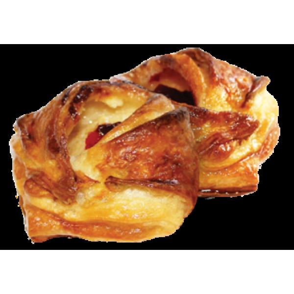 Пирожное слоеное  'Чебурашка ' с творогом и вишней ' 1 кг НЕ ЗАКАЗ
