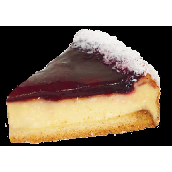 Пирожное бискв-твор  'Чизкейк фруктовый '  1 кг