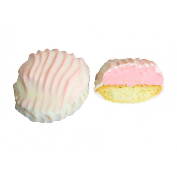 Печенье  сдоб  'Ракушки ' клубника 1,0 кг