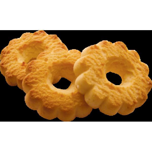 Печенье  сдобное  'Кольцо с аром 'творога ' 1,9кг * НЕ ЗАКАЗ