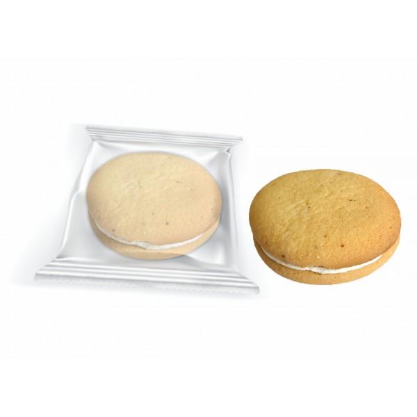 // Печенье бисквит  'Буше ' с  'Пломбиром ' Флоу-пак 1,5кг