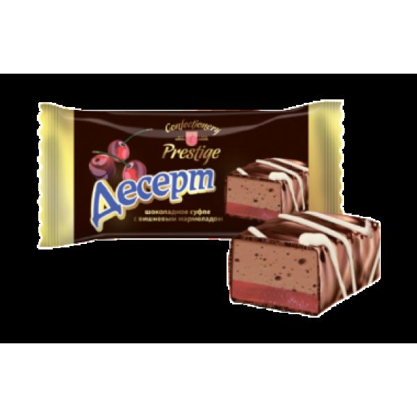 Конфета  'Десерт ' Шокол суфле с вишн марм(флоу) 2,5 кг*
