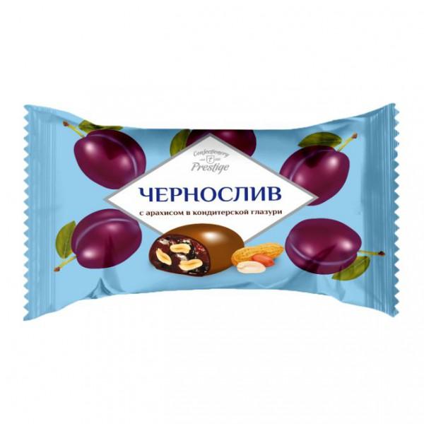 Конфеты  'Чернослив с орехом '  (флоупак КРУПНАЯ) *2 кг (ШТРИХ-КОД)  ПОСТНЫЕ