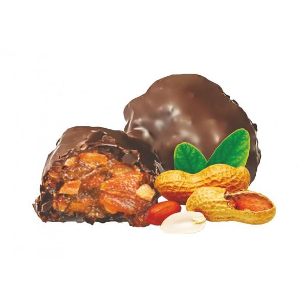 Конфеты  'Курага с орехом 'в конд.глазури 2 кг