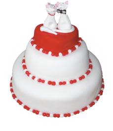 Торт на свадьбу заказать в Харькове