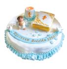 тематический торт Крестины на заказ