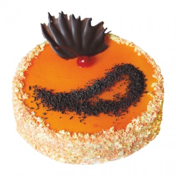 Торт Апельсиновый 1 (Был Творожно - апельсиновый)