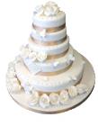 Свадебный торт на заказ по самой низкой цене в Харькове